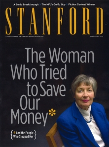 Stanford Magazine, one of my favorites—and a gold medal winner this year