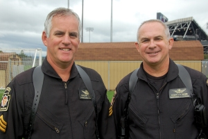 Sgt. Fox and Sgt. Cochran, the nicest state troopers you'd ever want to meet....