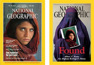Afghan girl time cover