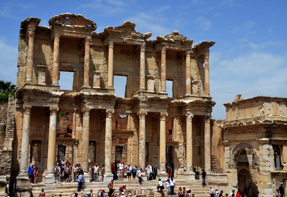 The Ruins At Ephesus