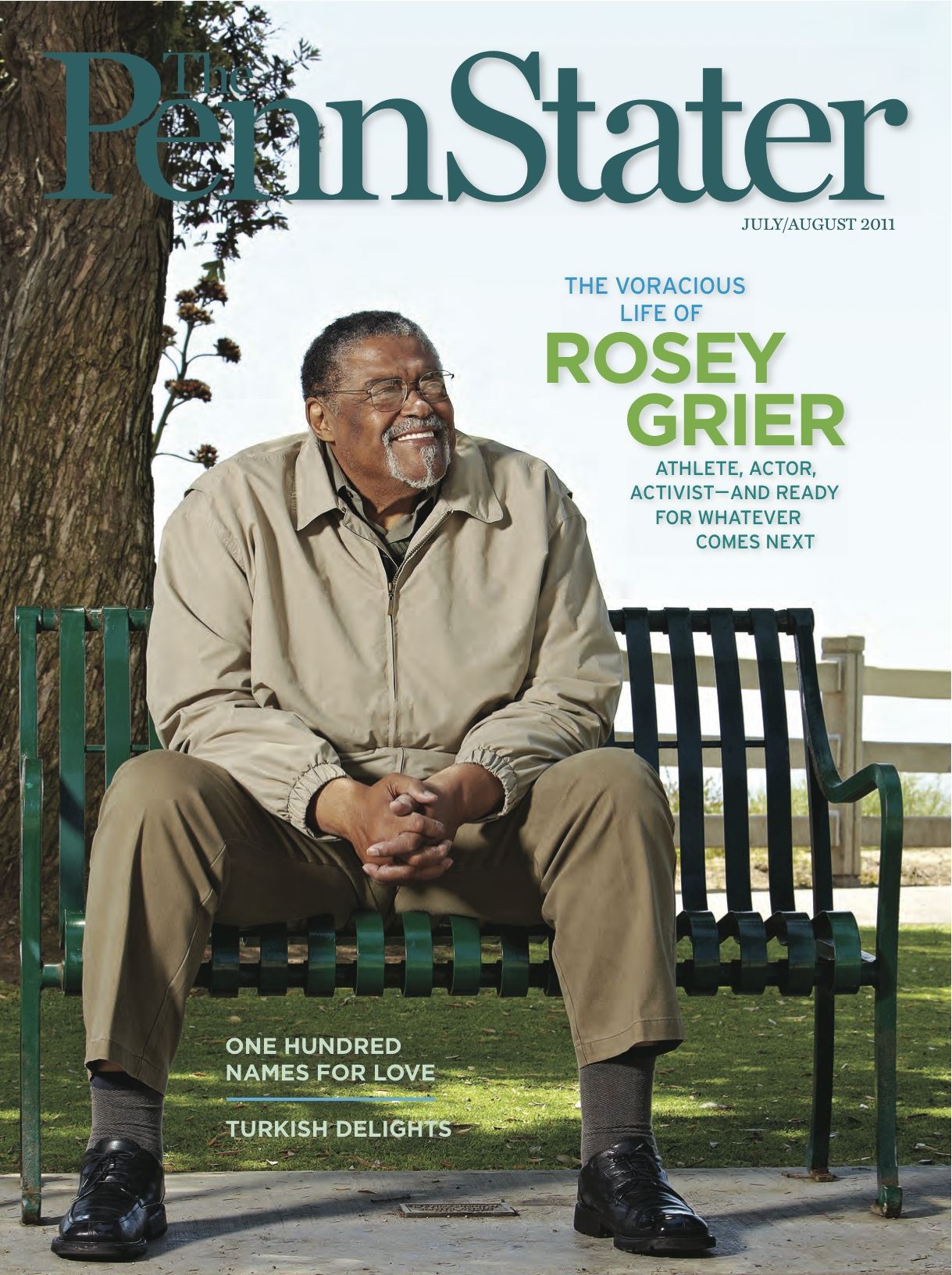 Rosey Grier The Penn Stater Magazine