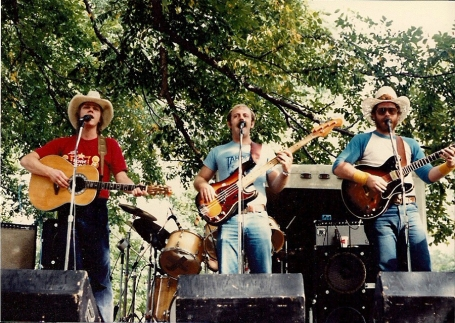 Terry Whitlock (left) in Tahoka Freeway, 1979.