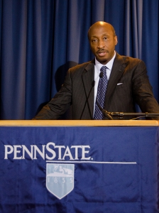 Ken Frazier, shown in this file photo, was one of the main speakers at Friday's Board of Trustees meeting.