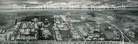 This aerial view of University Park appeared in the magazine in 1961. Click to see larger.