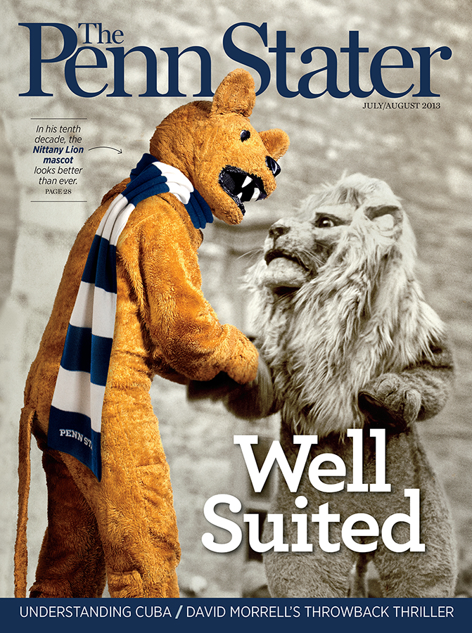 Itu0027s Here The July/August Issue & Nittany Lion mascot | The Penn Stater Magazine