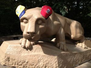 The Nittany Lion is primed for Saturday's big hurling showdown. Are you?