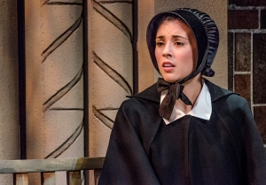 Just a few months ago, Hughes played Sister James in a Penn State Centre Stage production of Doubt.