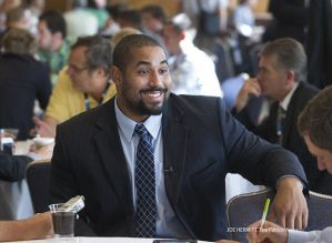 Nice photo of John Urschel by Joe Hermitt of The Patriot-News.