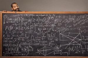 John Urschel does the math for ESPN The Magazine. Photo by Gregg Segal/ESPN.