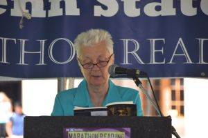 "Liberal Arts dean Susan Welch takes her turn with ""Metamorphosis"""