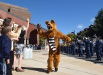 The Nittany Lion was in the spirit.