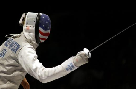 Photo via USA Fencing